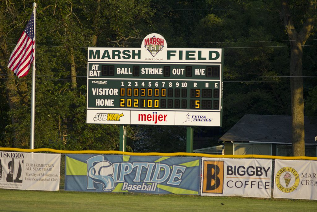 It was an evening for the baseball stars to shine at Marsh Field All-Star Classic