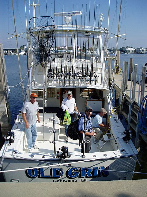 Grand Haven charter captain, Old Boys' Brewhouse team up to provide anglers a true delicacy