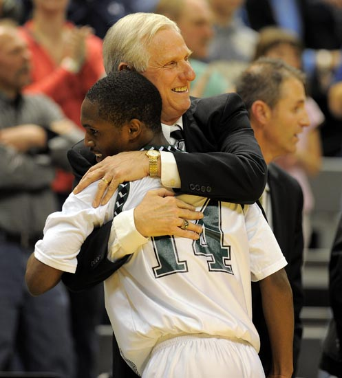WMC coach Jim Goorman earned the right to go out on his own terms