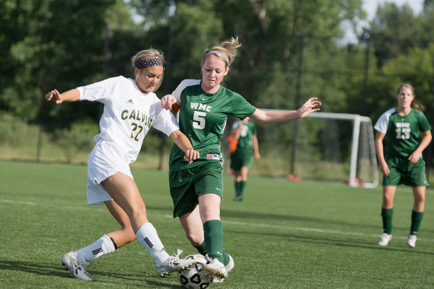 Western Michigan Christian blanked 3-0 by Calvin Christian in girls soccer semifinals