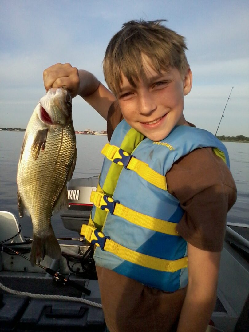 White perch may be underappreciated by some anglers, but not by Scott and Brandon Ruiter