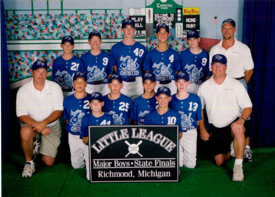 Opinion: Thanks for the memories to my guys on the 2002 Roosevelt Park Little League team`