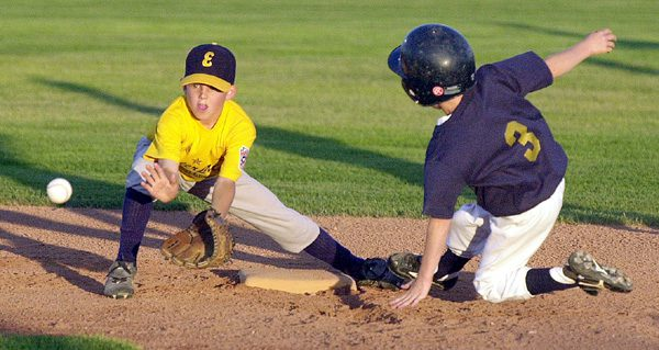 West Michigan district little league baseball, 9 and 10 schedule