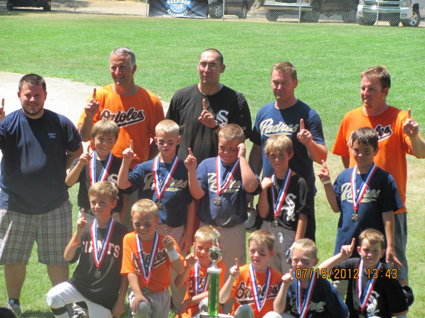 Roosevelt Park crowned champions of first-ever 8U all-star tournament