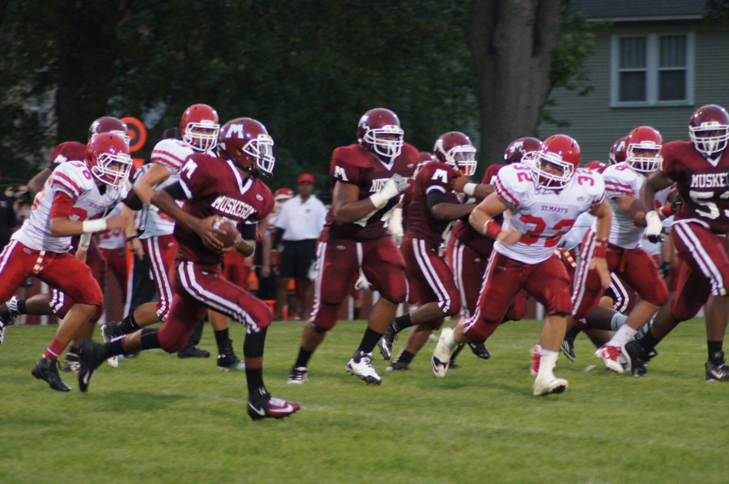 Muskegon Big Reds ready for battle with Division 2 state football title up for grabs