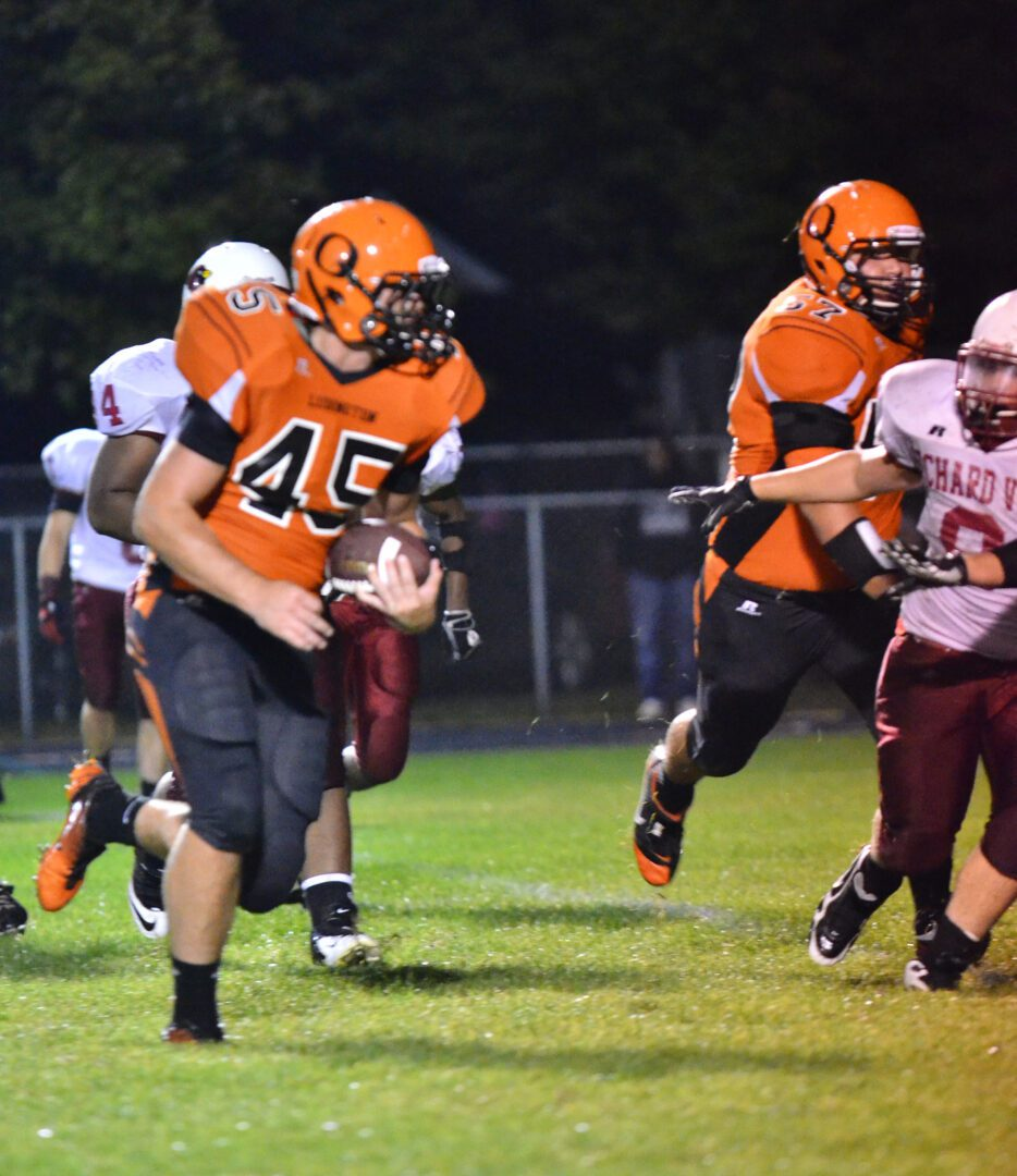 Ludington tops Orchard View, earns first win of the season