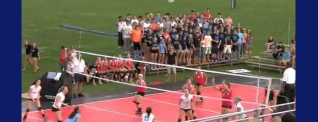 Opinion: Outside or inside, Wednesday's volleyball quad at Mona Shores was something to remember [VIDEO]
