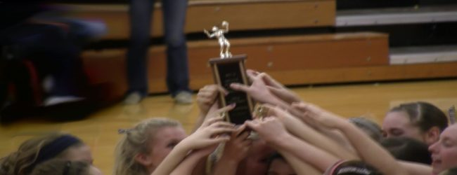 Mona Shores crowned Greater Muskegon Athletic Association city tournament volleyball champs [VIDEO]