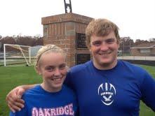 Oakridge football is literally a family affair for Beka, Jacob Shepherd