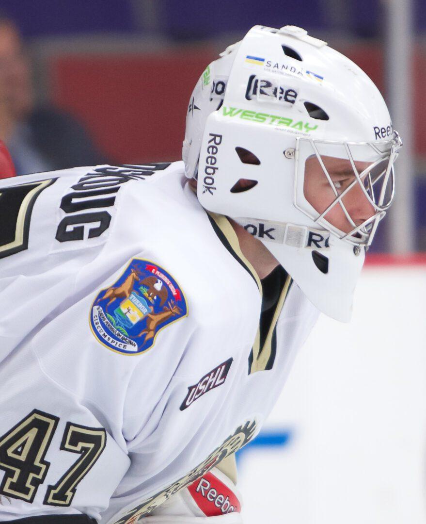 Chalk up another shutout for Muskegon Lumberjack goaltender Kevin Lindskoug [VIDEO]