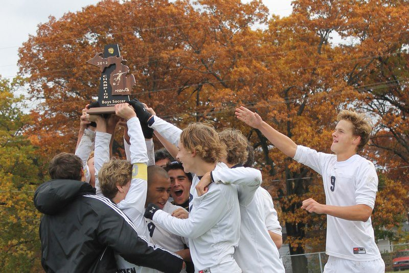 North Muskegon avenges earlier loss to Muskegon Catholic, claims Division 4 district soccer title