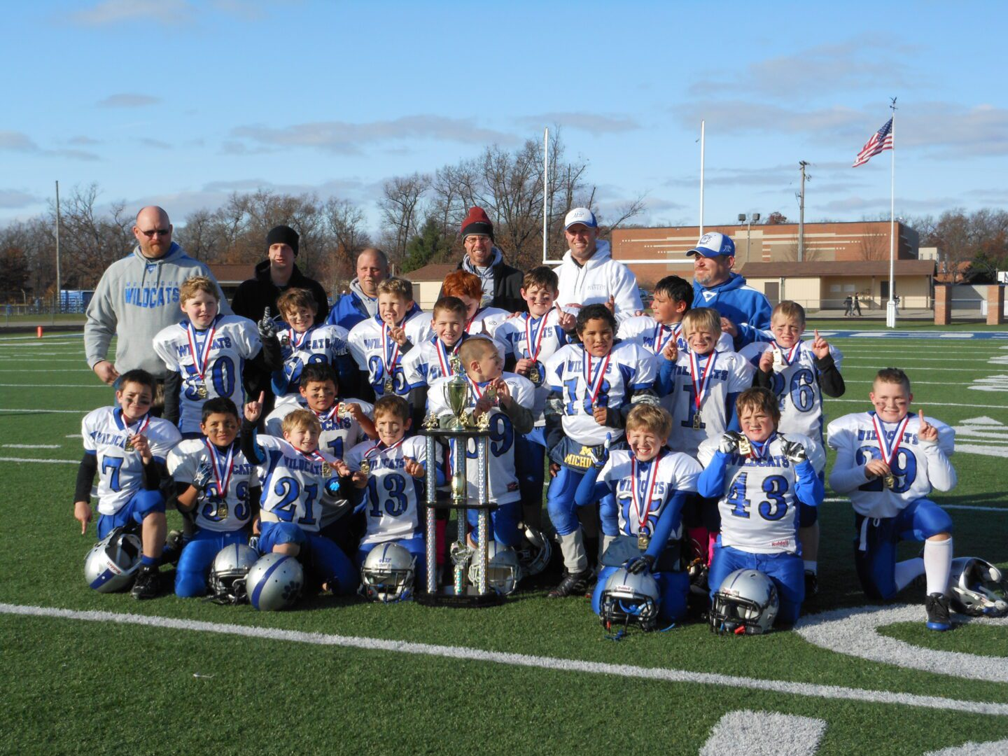 Montague 9-10 year old team wins Battle on the Lakeshore Tournament