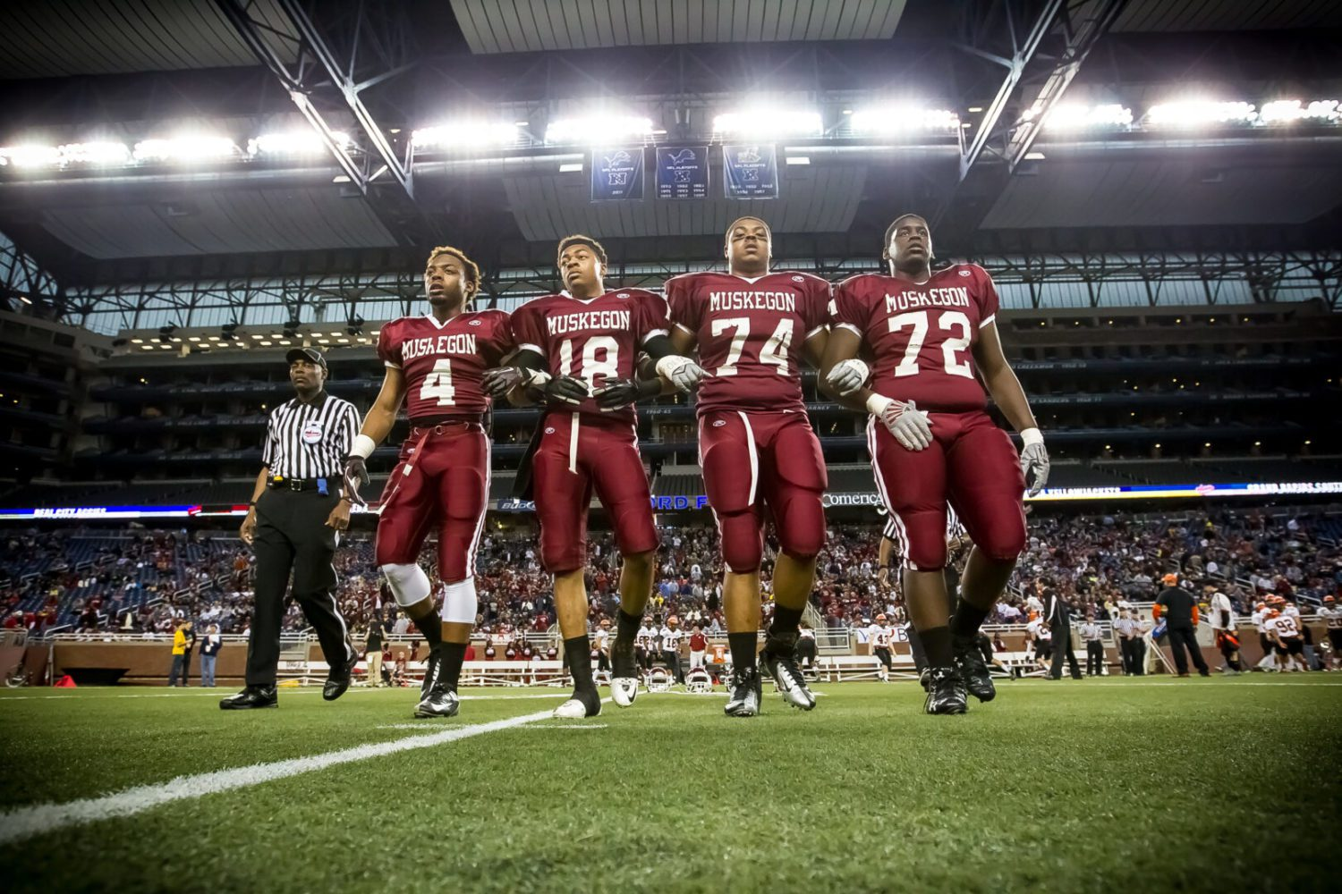 Division 2 state title game preview: Muskegon Big Reds gearing up for battle with top-ranked Birmingham Brother Rice with a Division 2 state title on the line