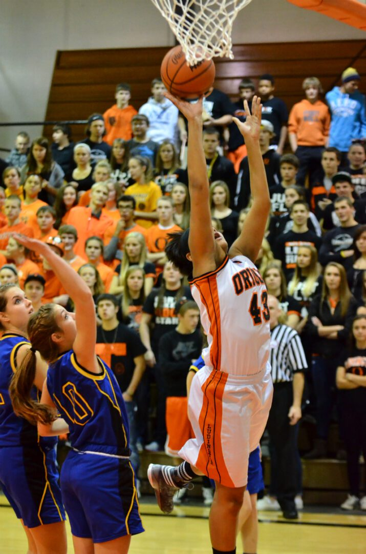 Ludington's girls basketball team rolls over Mason County Central