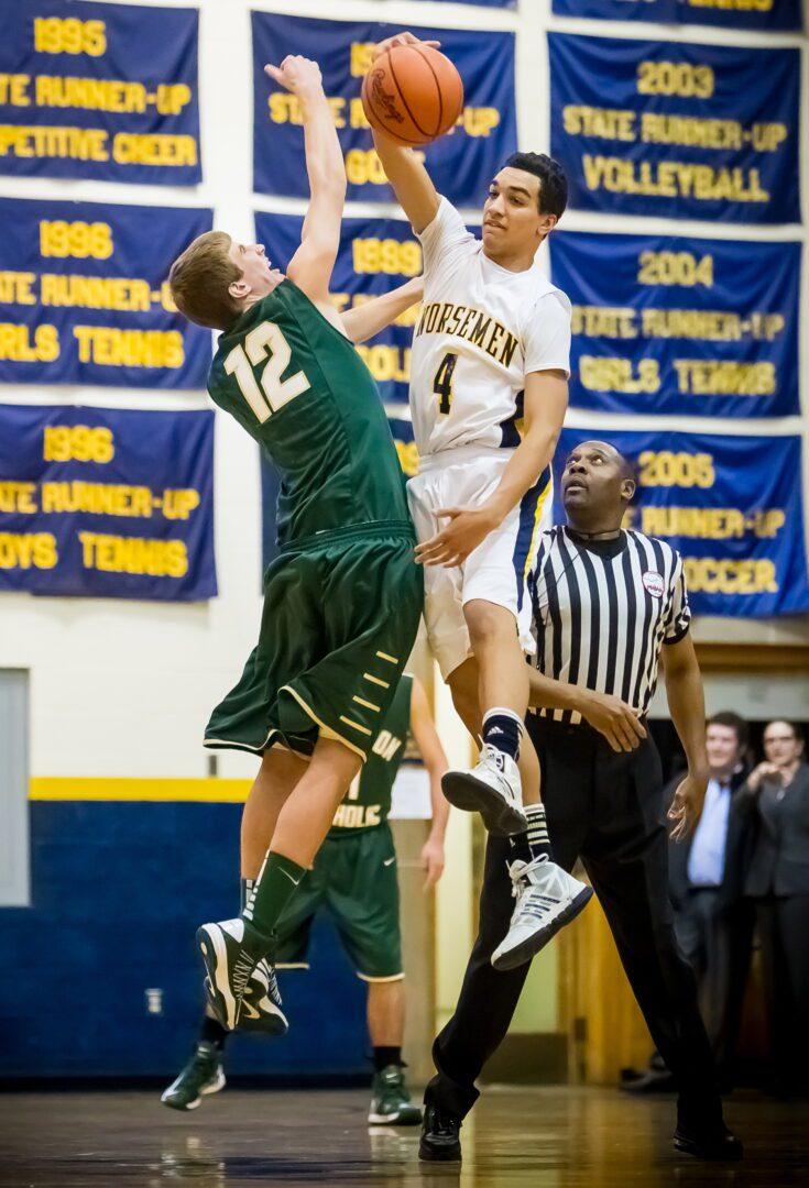 Muskegon Catholic vs. North Muskegon boys basketball (Photo gallery)