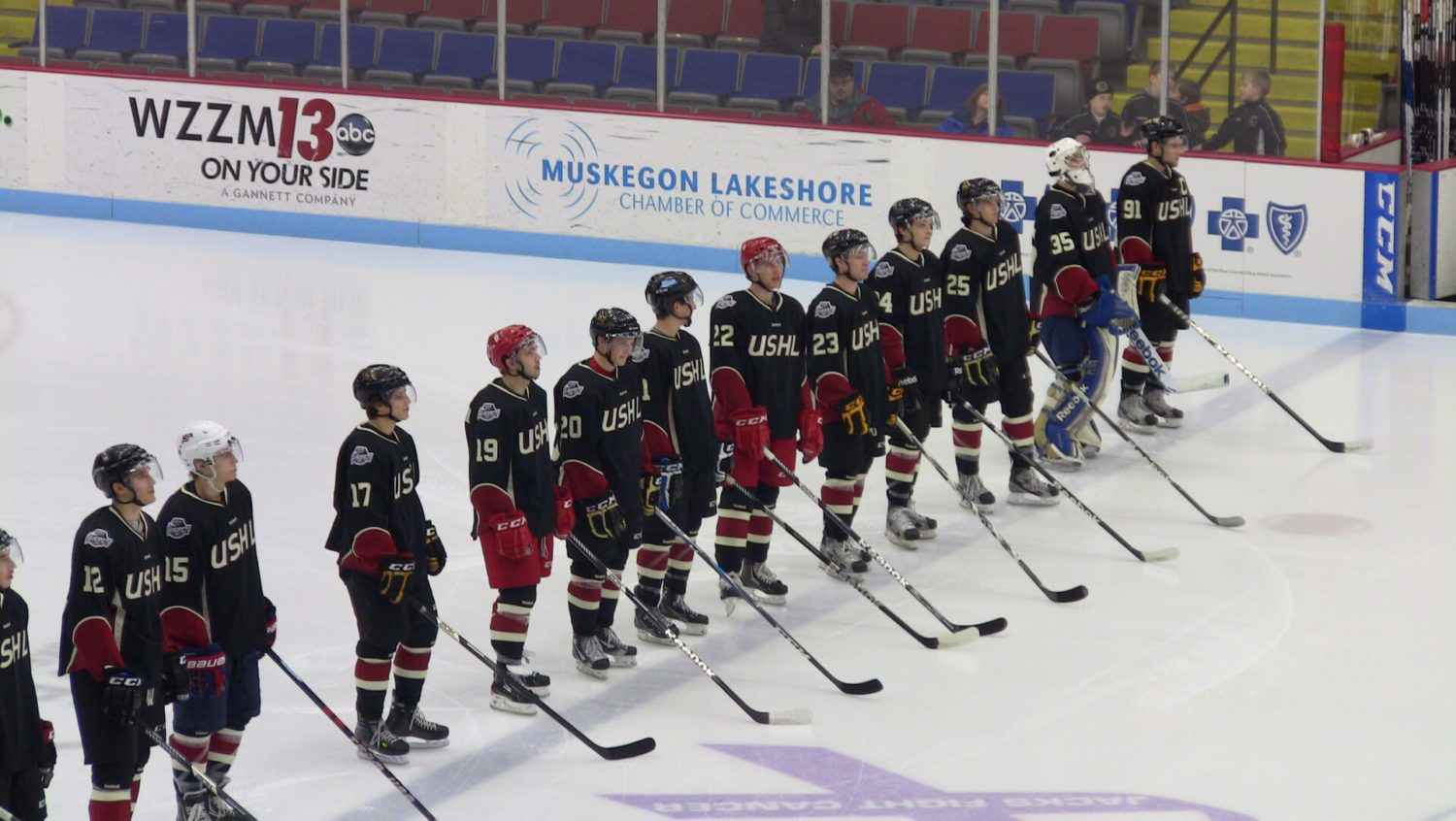 Highlights from the USHL / NHL Top Prospects game [VIDEO]