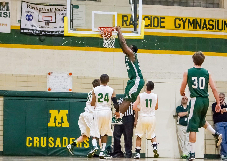 Western Michigan Christian at Muskegon Catholic boys basketball: Jan.18 (Photo gallery)