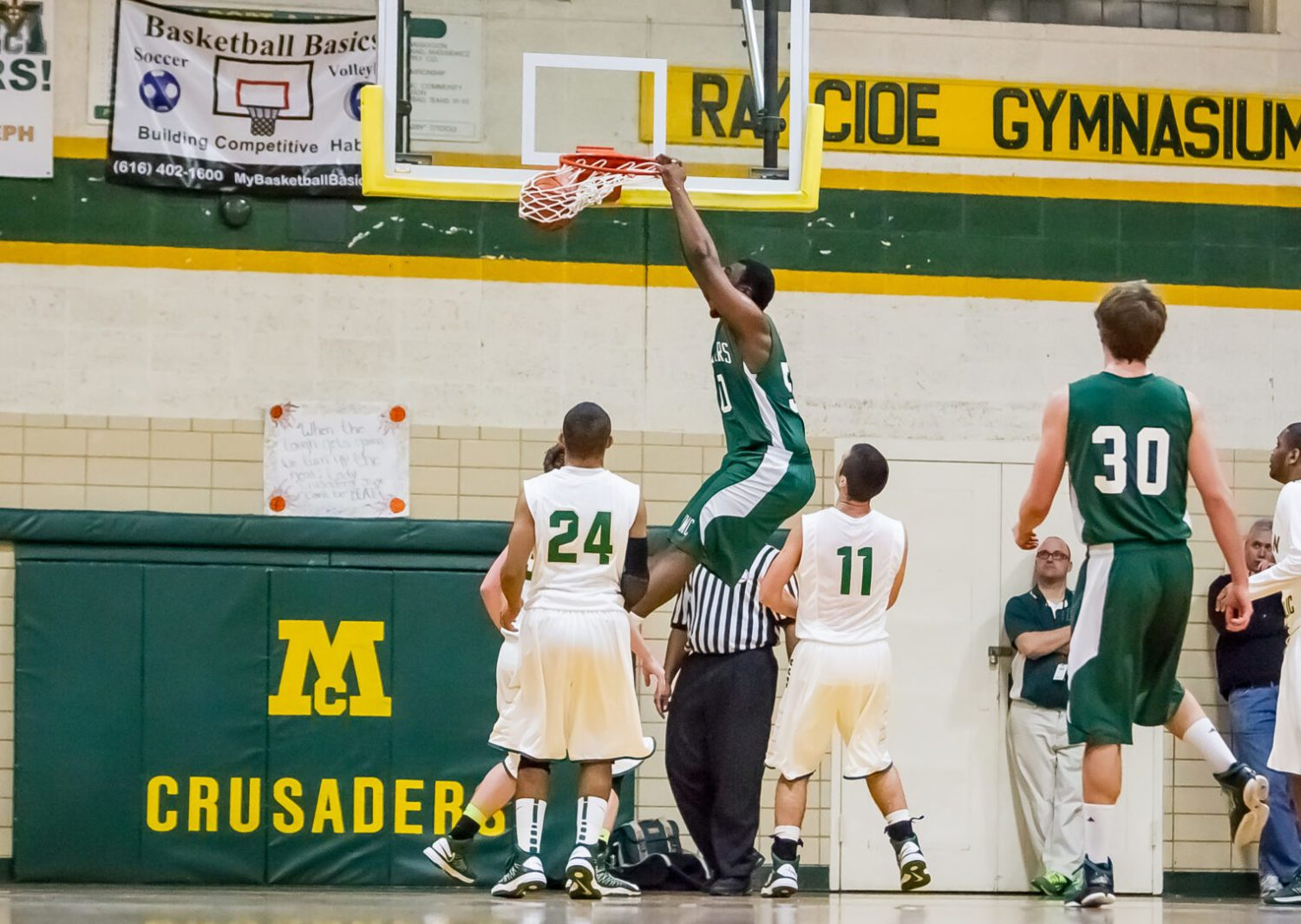 LSJ Summer 13: Day 2 arrives with Muskegon Catholic football action, North Muskegon dunk shots and a radio shout out
