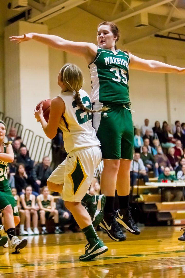 Western Michigan Christian at Muskegon Catholic girls basketball: Photo gallery