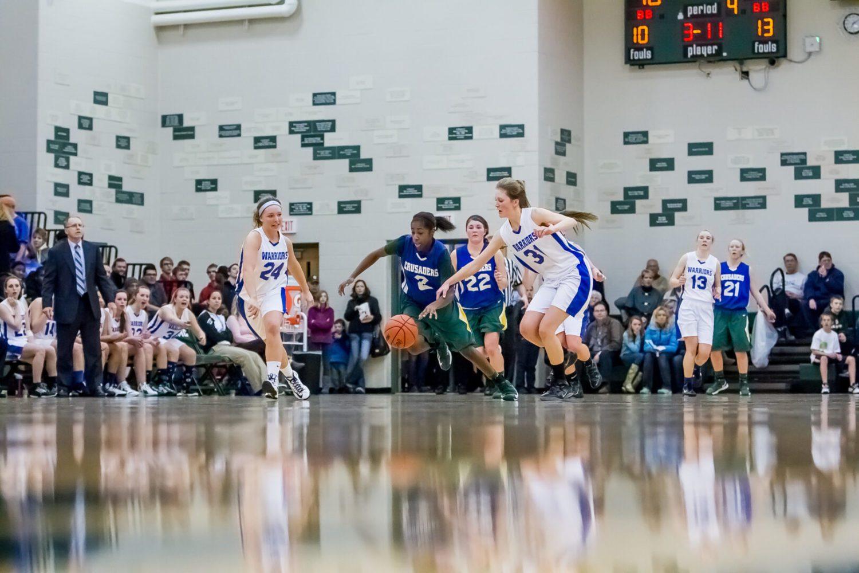 Muskegon Catholic at Western Michigan Christian girls basketball [PHOTO GALLERY]