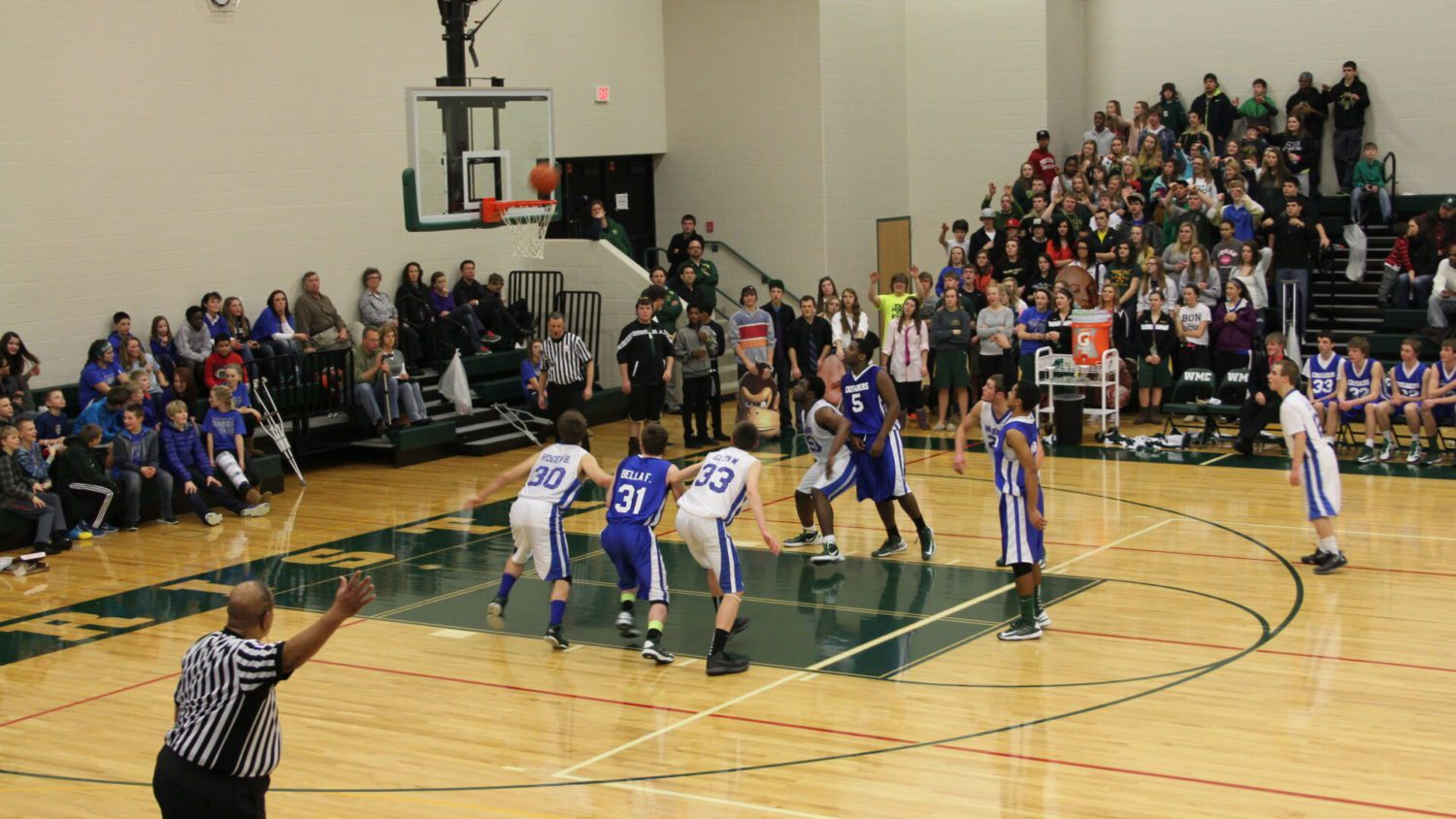 Highlights from Western Michigan Christian's battle against Muskegon Catholic Central [VIDEO]