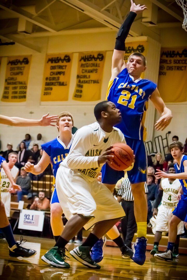 Boys basketball: Fruitport Calvary vs. Muskegon Catholic (Photo gallery)