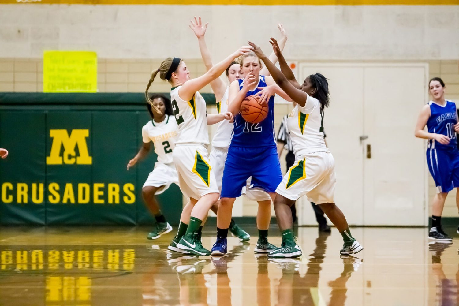 Muskegon Catholic Central girls too much for Fruitport Calvary Christian in Class D district showdown