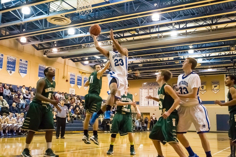 Muskegon Catholic at Montague boys basketball (Photo gallery)