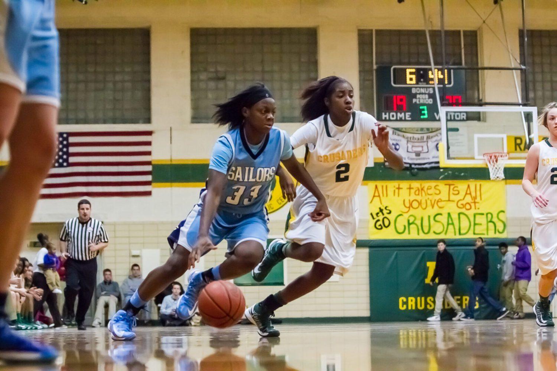 Girls basketball: Mona Shores Sailors at Muskegon Catholic Central (Photo gallery)