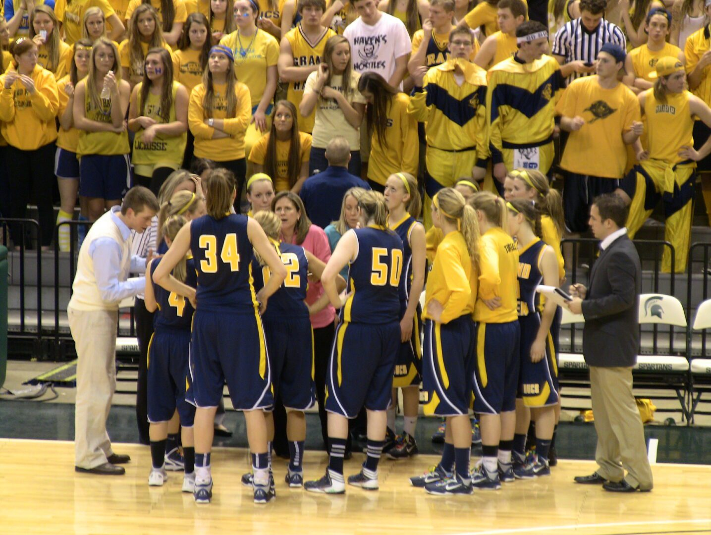 Grand Haven slides past Westland John Glenn, earns spot in Saturday's Class A state title game