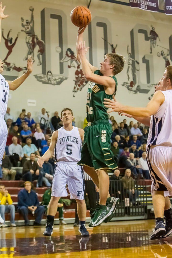 Muskegon Catholic vs. Fowler boys basketball (Photo gallery)