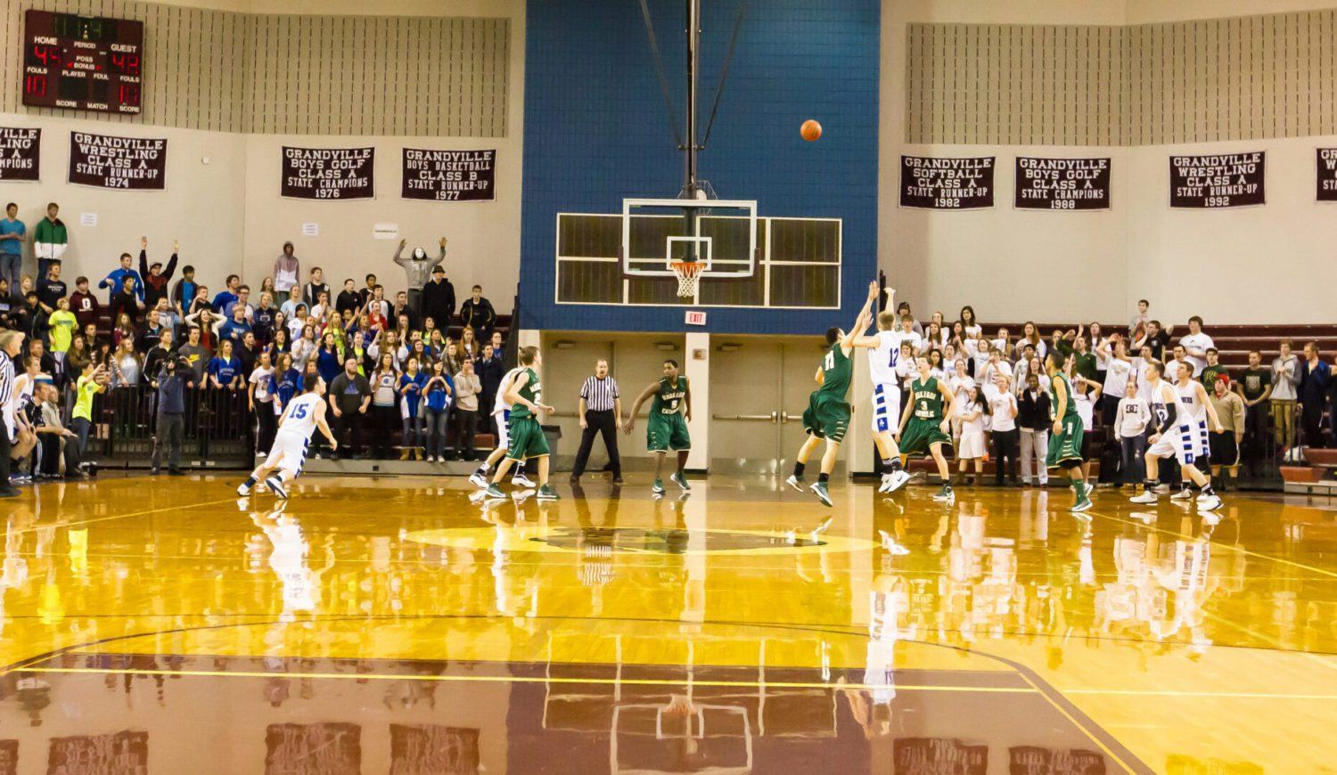 Muskegon Catholic pushes No. 1 Tri-unity to the brink before falling in overtime