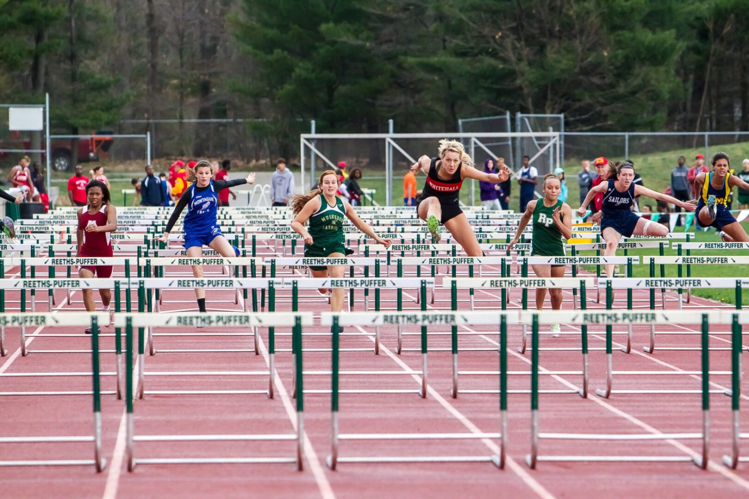 Greater Muskegon Athletic Association girls track meet results