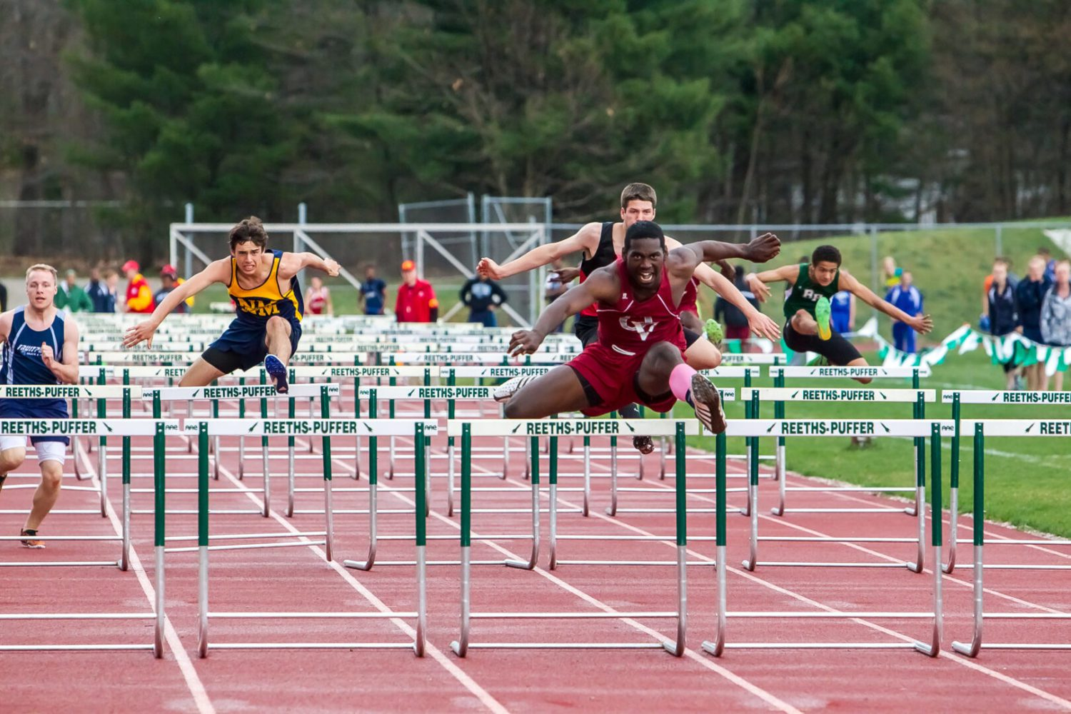 West Michigan Conference boys track meet results