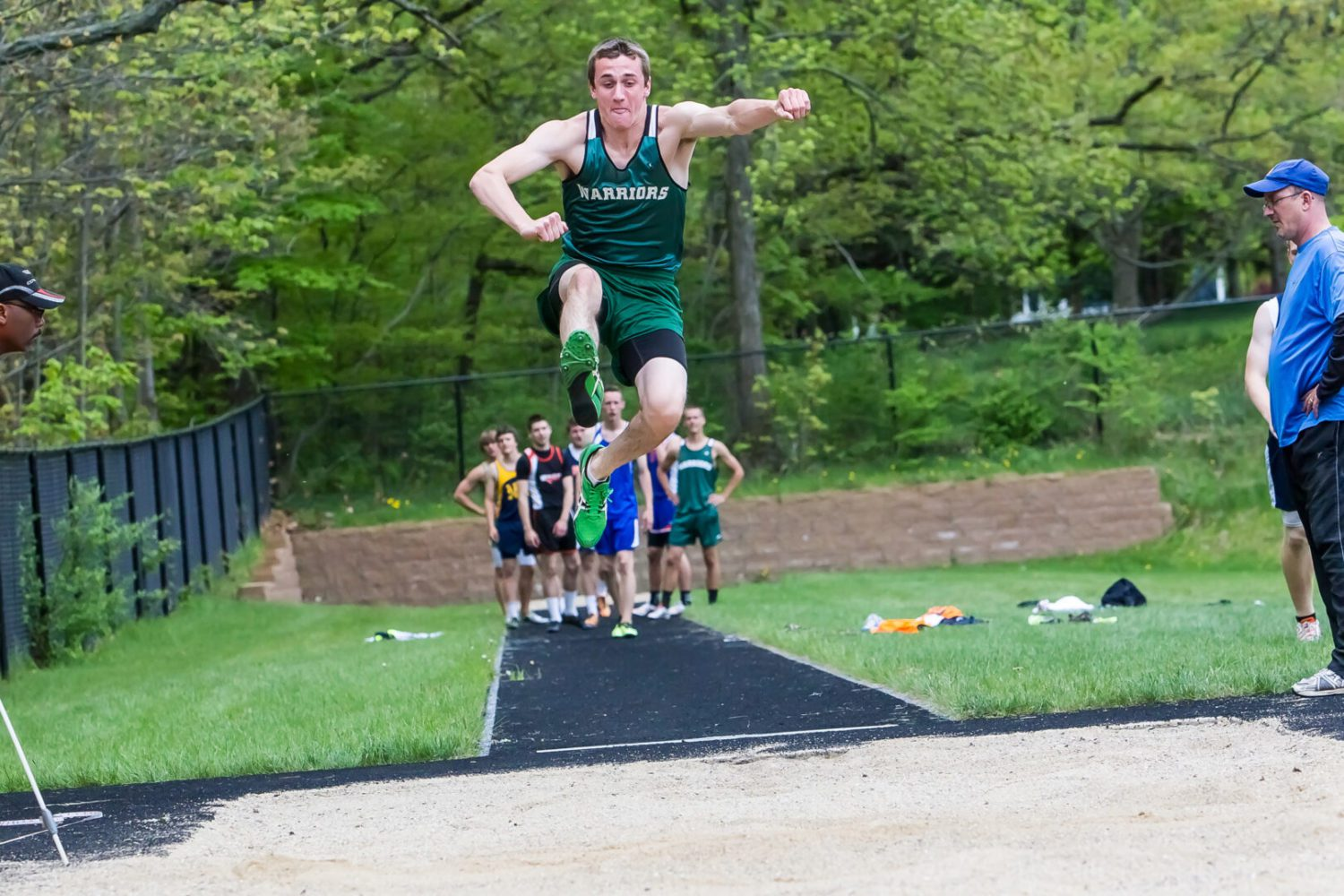 Photo gallery: Division 4 regional track at Saugatuck High School