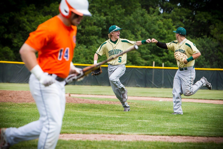 Muskegon Catholic vs. Gobles: Division 4 baseball regional semifinal (Photo gallery)