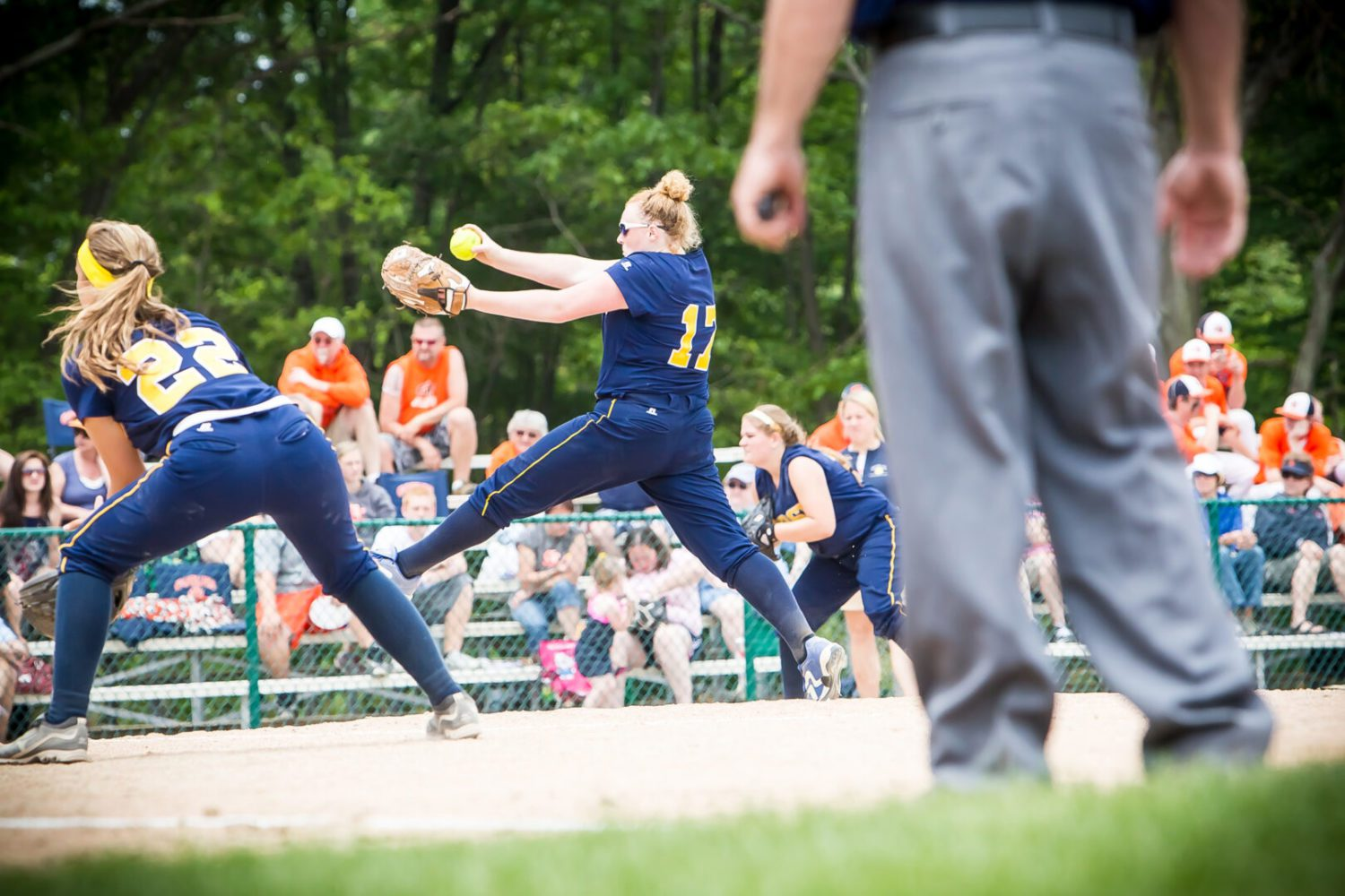 Softball roundup 4/17: Grand Haven takes two wins from North Muskegon; Mona Shores and Fremont both register victories, Holton rolls