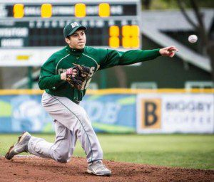Nick Holt delivers a pitch during his All-State season.