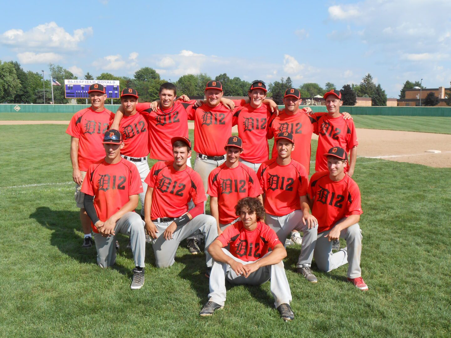 District 12 Big League baseball team over comes early loss in state tournament and makes it to finals