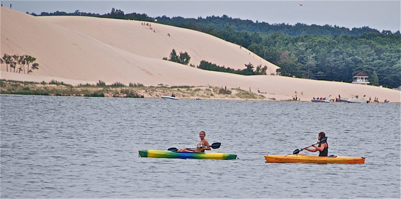 Kayaking programs offered at Silver Lake State Park on July 26