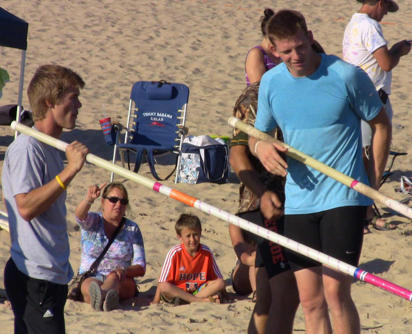 Grand Haven Beach Vault Day 1: A few highlights from the action [VIDEO]