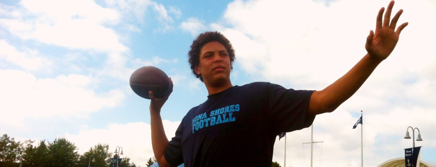 Mona Shores' Jackson ready to be put to the test versus rival Muskegon Catholic [VIDEO]