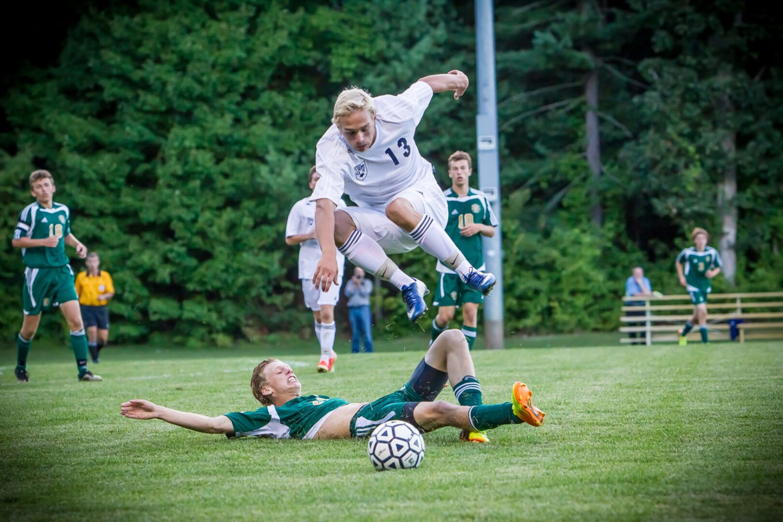 Fruitport firepower too much for Muskegon Catholic in boys soccer