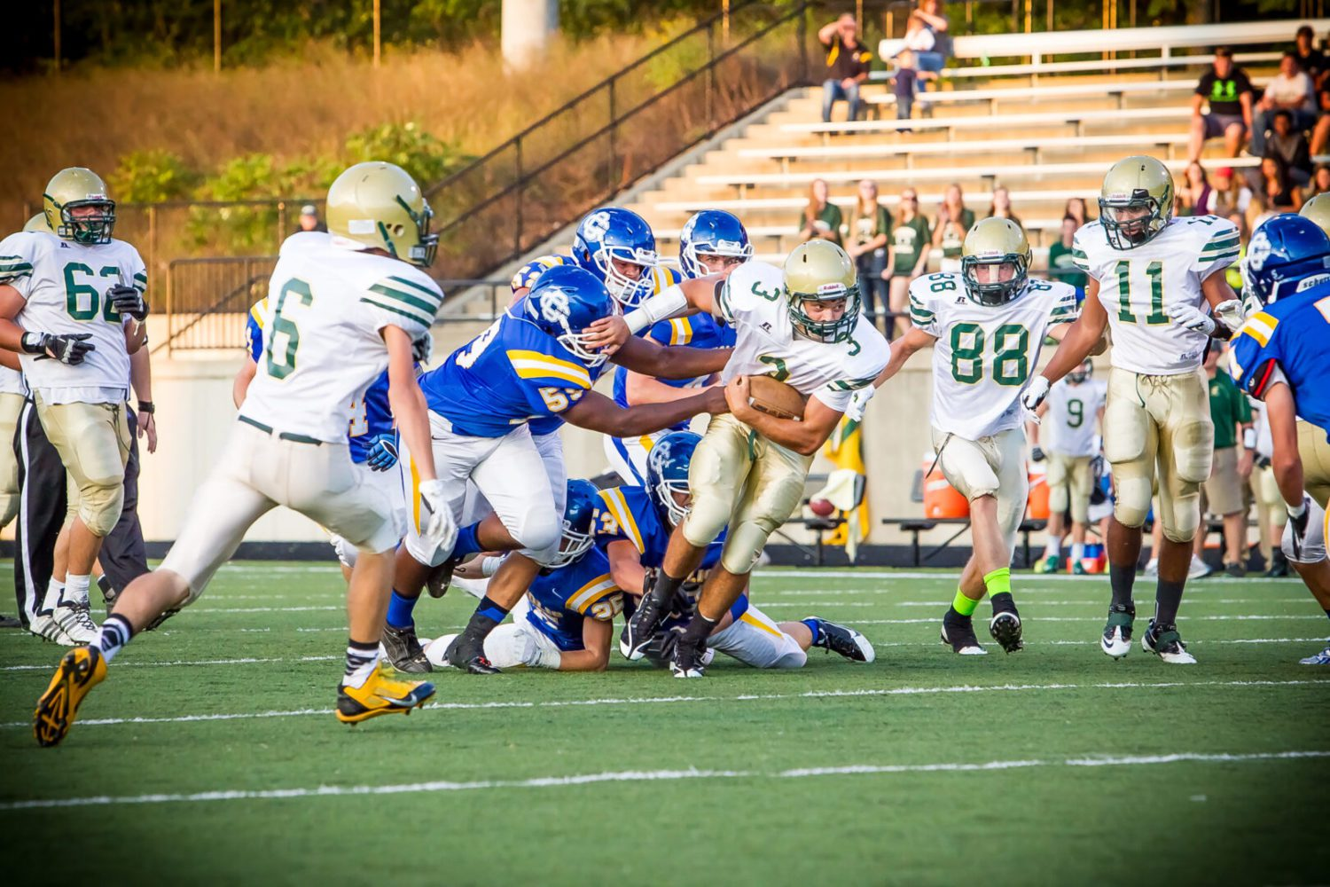 MCC Crusaders take on Fulton in Round 1 of playoffs in first-ever gridiron meeting