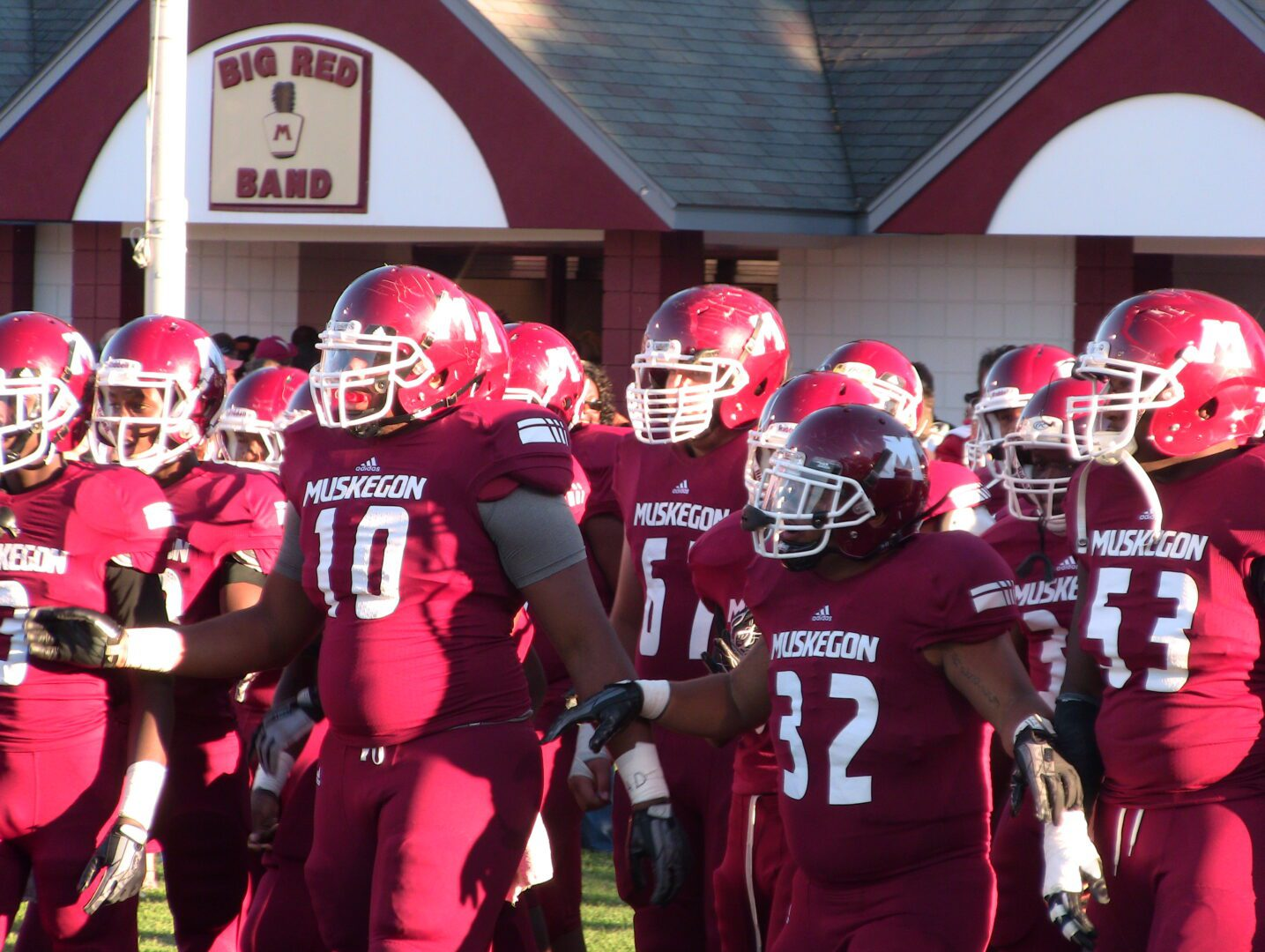 Highlights from Muskegon's stomping of Rockford [VIDEO]
