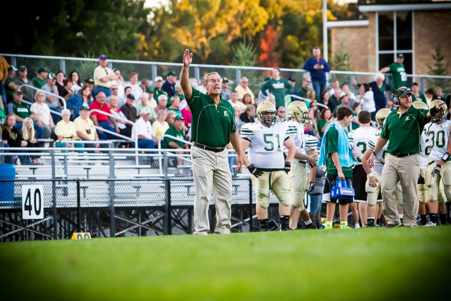 Moyes' Memories honors long time crusader assistant coach Mike Ribecky
