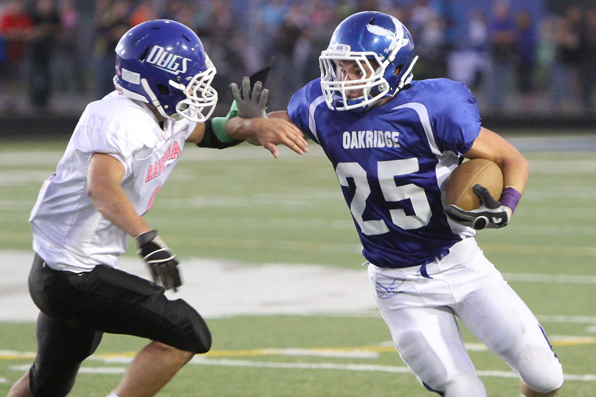 Oakridge survives upset scare at the hands of rival Ravenna