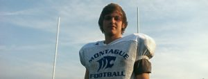 Montague senior Chris Carroll hopes his efforts in 2013 will live up to the level set by previous Wildcat gridiron leaders. (Photo by Mark Lewis)