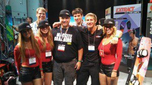 Chris Bobryk (2nd from right) stands with four Best Girls and Steve Negen, Jake VanderZee and Jake Mitchel (L to R).