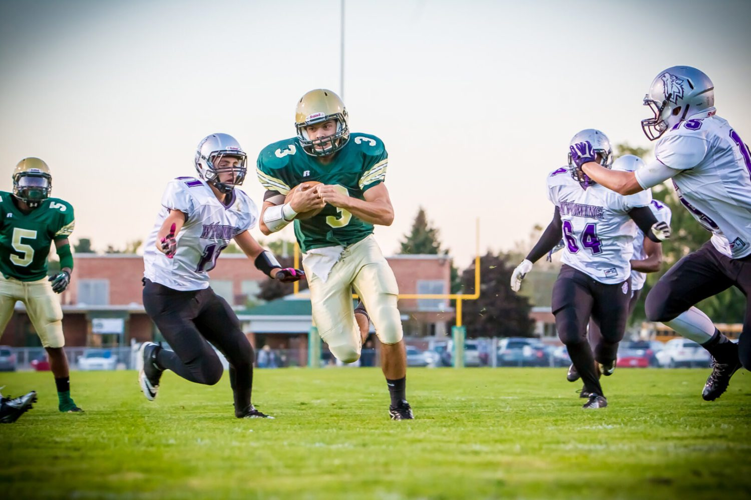 Muskegon Catholic blanks Wyoming; a win away from the playoffs